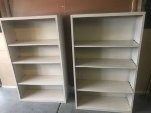 Two open metal shelves / storage for Sale in Henderson, NV