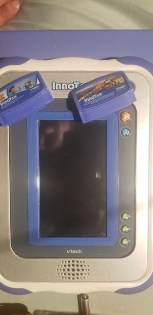Kids innotab plus 2 games for Sale in Arvada, CO