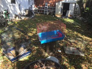 2 Bird Cages and a hamster cage for Sale in Houston, TX