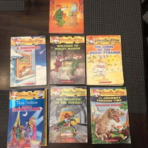 Lot Of 7 Kids Chapter Books 2nd -4th Grade Geronimo Stilton for Sale in Atwater, CA