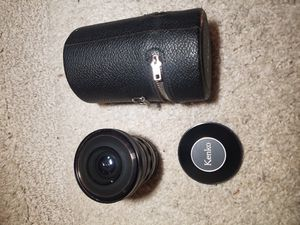 Kenko Camera Lens Fisheye made in japan for Sale in Citrus Heights, CA