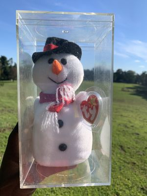 Ty Beanie Babies Snowball Snowman for Sale in Philadelphia, PA