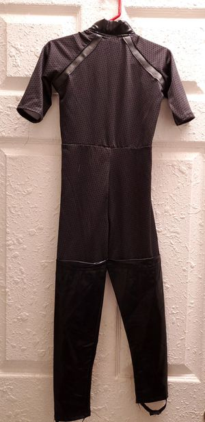 The Dark Knigth Catwomen Girl's Small 4-6 Halloween Costume ONLY THE JUMPSUIT for Sale in Homestead, FL