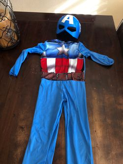 Kids captain America costume for Sale in Stockton,  CA