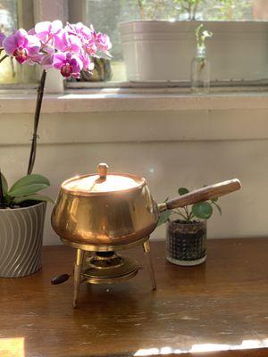 Vintage Copper Fondue Pot for Sale in Los Angeles, CA