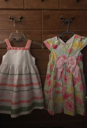 Two Easter Dresses size 4/ gently used for Sale in Frederick, MD