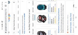 Babytrend infant car seat for Sale in El Cajon, CA