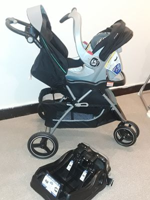 Running Stroller and infant car seat Bundle 👀 for Sale in Philadelphia, PA