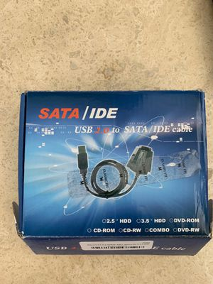Usb 2 to sata/ide cable for Sale in Bal Harbour, FL