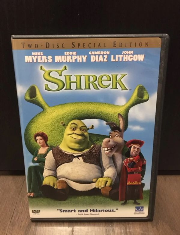 Shrek Two-Disc Special Edition DVD