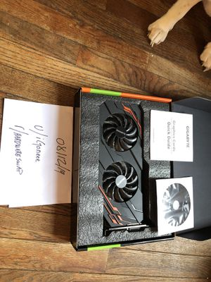 Gigabyte GTX 1070 8gb GPU Graphics card for Sale in Plainfield, CT