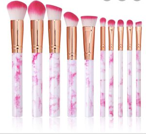 Hot Pink Marble Makeup Brush Set for Sale in Chula Vista, CA