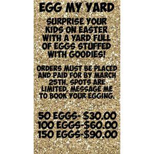 Egg my Yard for Sale in Oklahoma City, OK
