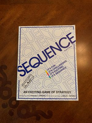 Sequence Board Game for Sale in Sun City West, AZ