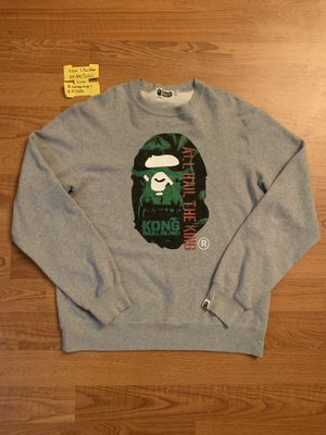 Bape x Kong crew neck sweater for Sale in Decatur, GA