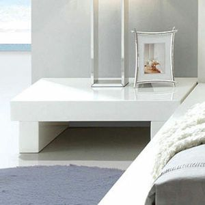 New Glossy White Christie Nightstand for Sale in Beverly Hills, CA