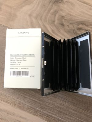 Stainless Steel Credit Card Holder for Sale in Lincoln, NE