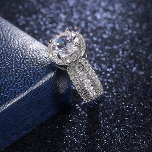 Round Brilliant Cut Lab Created High Quality Simulated Diamond Engagement Ring in Platinum Size 6-7-8 for Sale in San Jose, CA