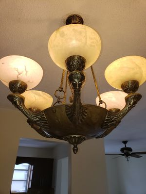bronze lamp for Sale in Olympia Heights, FL