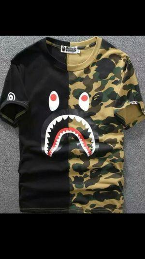 Men's Camo Bape T-Shirts XL for Sale in Bakersfield, CA