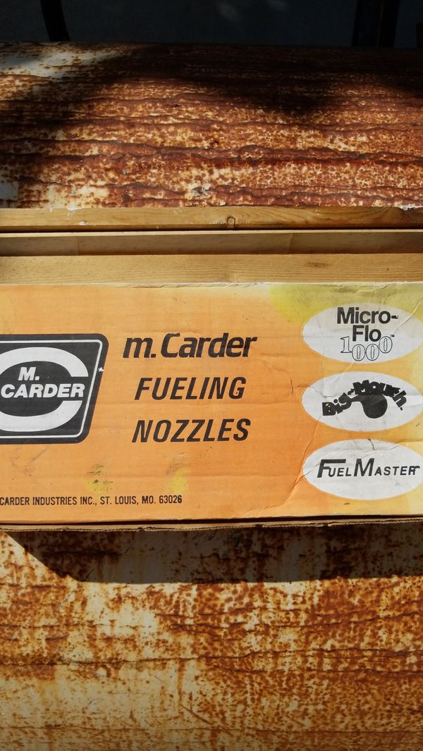 Diesel fuel nozle - fast fill gas station on toy hauler