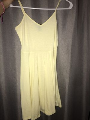Forever 21 yellow dress for Sale in Grand Prairie, TX