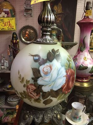 ANTIQUE!!! Hands Painted Lamps!!! Must Clear! for Sale in Canonsburg, PA