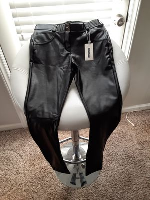 Best Yoga Store Eco-leather pants for Sale in Willow Spring, NC