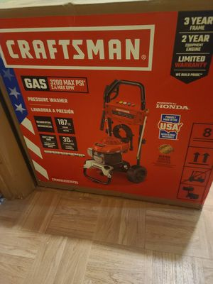 NEW Craftsman pressure washer 3200 for Sale in Adelphi, MD