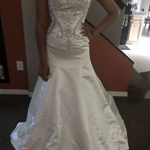 Wedding dress size 6 for Sale in Tampa, FL