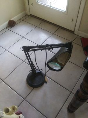Desk Lamp With Magnifying Glass for Sale in Milton, FL