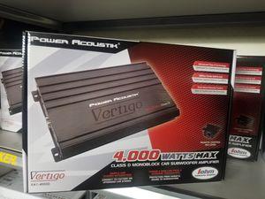 BASS AMPLIFIER 4000 watt WITH BASS KNOB for Sale in San Bernardino, CA