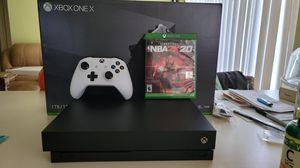 Xbox One X 1TB with NBA 2k20 for Sale in Miramar, FL