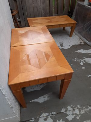 Coffee and side tables for Sale in Denver, CO