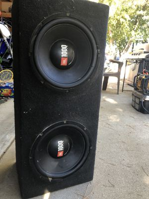 "12"" JBL subs for Sale in Beaumont, CA"