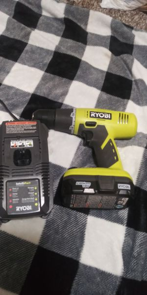 Ryobi 18v Drill with Battery and Charger for Sale in Norwalk, IA
