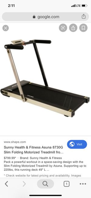 Asuna 8730 Folding Treadmill for Sale in New York, NY