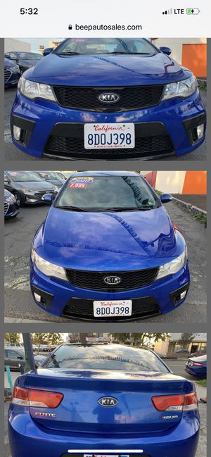 2010 KIA Forte SX We Finance for Sale in National City, CA