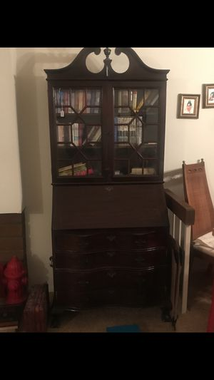 Antique secretary desk good condition for Sale in Garden Grove, CA