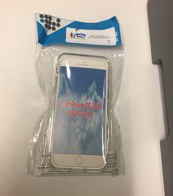 iPhone SE 2020 SE2 SE 2/8/7 Clear Silicon Case for Sale in Wichita,  KS