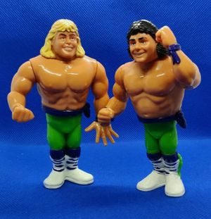 """VINTAGE Hasbro WWF Wrestling """"The Rockers"""" Tag Team Shawn Michaels -Marty RARE for Sale in Detroit, MI"""