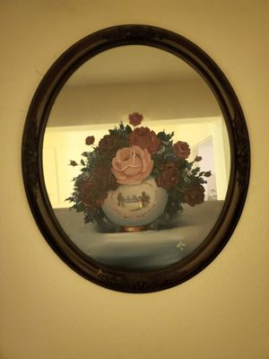 Hand Painted Antique Mirror for Sale in Fresno, CA