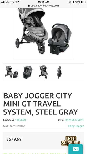 Stroller and car seat system for Sale in Bernalillo, NM