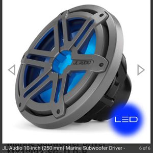 "JL Audio 10"" Marine Subwoofer $80 for Sale in Coosada, AL"