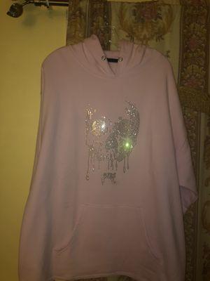 Revenge Pink death rhinestone hoodie for Sale in Los Angeles, CA