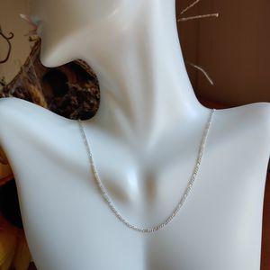 "🎁 NEW 22"" sterling silver figaro link chain for Sale in Pompano Beach, FL"