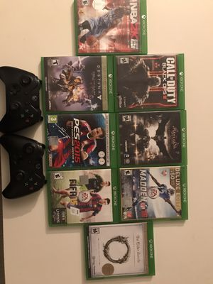 Xbox one games with controllers for Sale in San Diego, CA