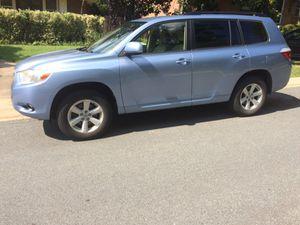 2008 Toyota Highlander for sale for Sale in Washington, DC