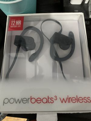 Power beats 3 wireless (black) trade??? for Sale in Chicago, IL