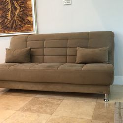 Bellenova Futon / Full size Bed / Storage for Sale in Miami,  FL